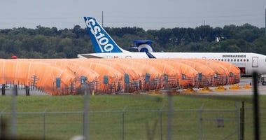 737 fuselages