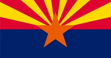 The state flag of Arizona
