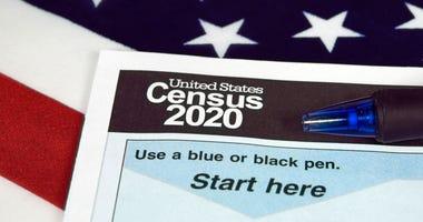 United States 2020 census form