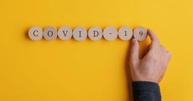 Covid 19 virus conceptual image
