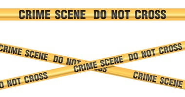 Crime scene do not cross graphic