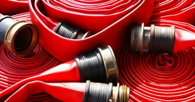 fire Hose - stock photo