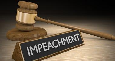 Impeachment law concept