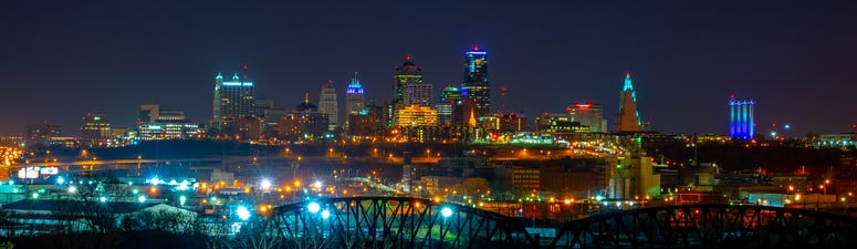 City view of Kansas City, Missouri