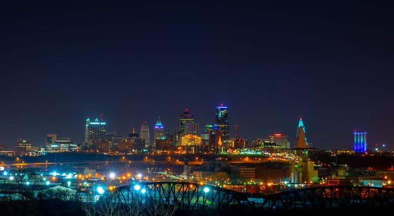City view of Kansas City, Missouri