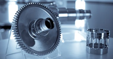 Precision engineering parts as used in the aviation industry