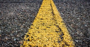 Close up of a roadway