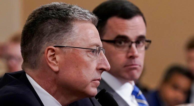 WATCH:  Amb. Kurt Volker at House inquiry