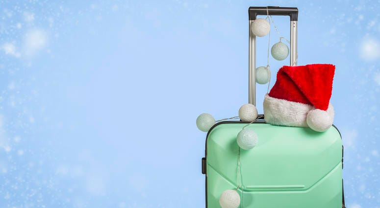 Are you traveling over the Christmas holiday