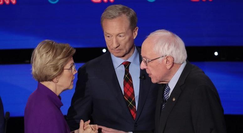 Warren, Sanders clash in the 7th Democratic debate