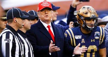 Trump football