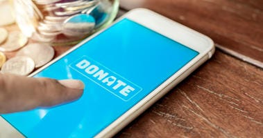 Giving On Cellphone