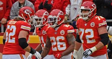 The Chiefs resting this week to prepare for the playoffs