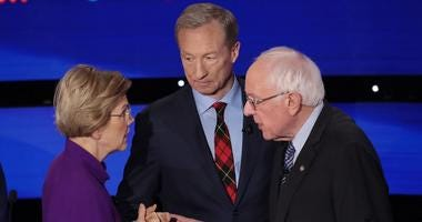 Warren, Sanders clash in the 7th Democratic debate