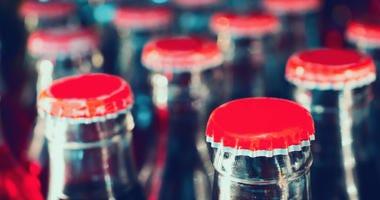Glass Coke bottles
