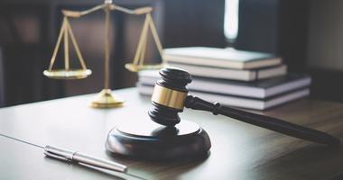District Court Judges gavel