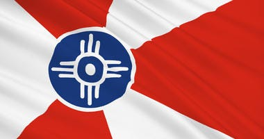 The flag of Wichita, Kansas