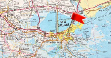 New Orleans on the Map