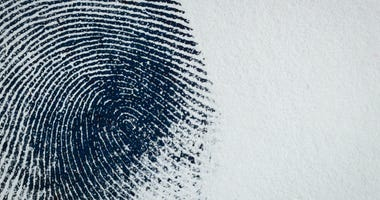Thumbprint on paper