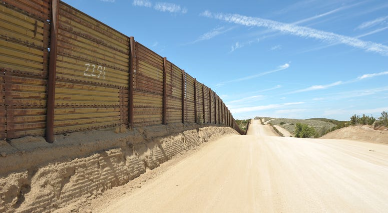 The southern USA-Mexican border