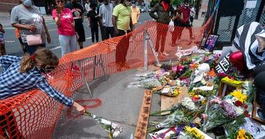 AP George Floyd memorial in Minneapolis