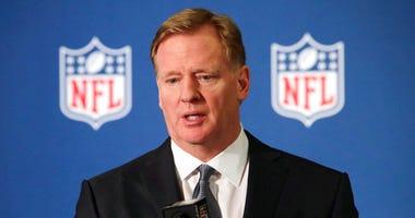 NFL's Roger Godell (AP)