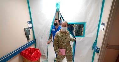 COVID-19 outbreak in Texas (AP)