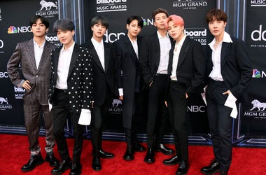 BTS attend the 2019 Billboard Music Awards at MGM Grand Garden Arena on May 01, 2019 in Las Vegas, Nevada. (Photo by Frazer Harrison