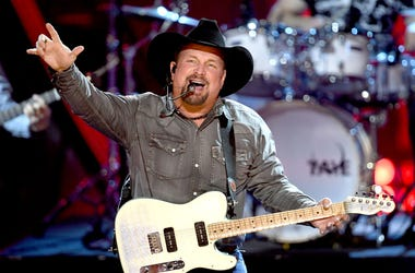 Garth Brooks performs onstage at the 2019 iHeartRadio Music Awards which broadcasted live on FOX at Microsoft Theater on March 14, 2019 in Los Angeles, California