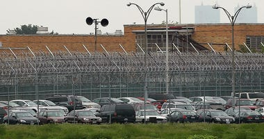A view of the Rikers Island prison complex where Dominique Strauss-Kahn, head of the International Monetary Fund (IMF), is being held while awaiting another bail hearing on May 17, 2011 in New York City.