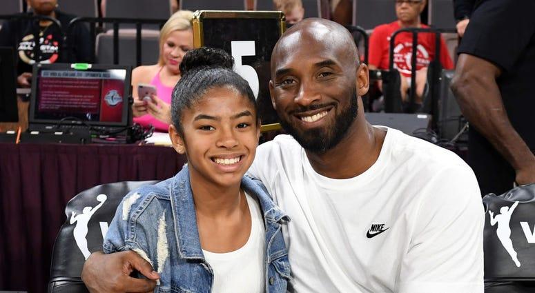 Kobe and Gianna Bryant