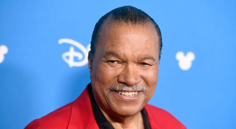 Billy Dee Williams attends Go Behind The Scenes with Walt Disney Studios during D23 Expo 2019 at Anaheim Convention Center on August 24, 2019 in Anaheim, California.