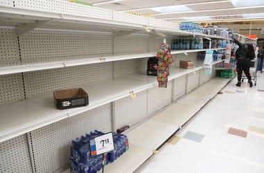 Coronavirus Empty Shelves
