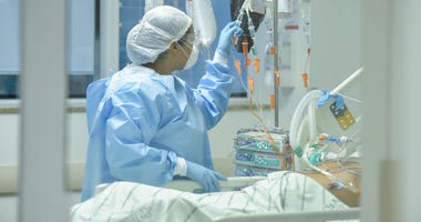 COVID-19 Hospital (GETTY)