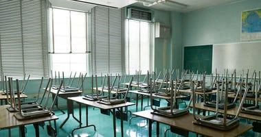 LAUSD classroom (GETTY)