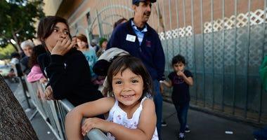 Homeless Children Los Angeles (GETTY)