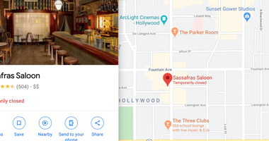 Sassafras Bar (Courtesy Google Maps)