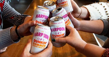 Dunkin' and Harpoon's coffee ale