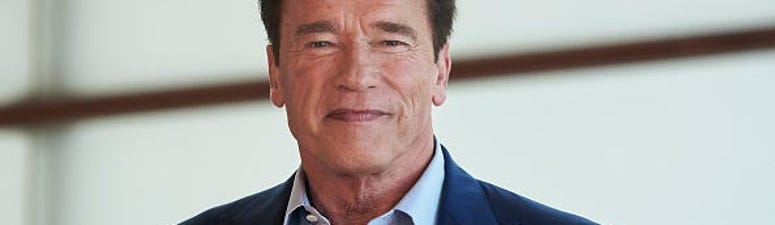 Arnold Schwarzenegger Wears 'Don't Be An A–' Shirt to Promote Social Distancing