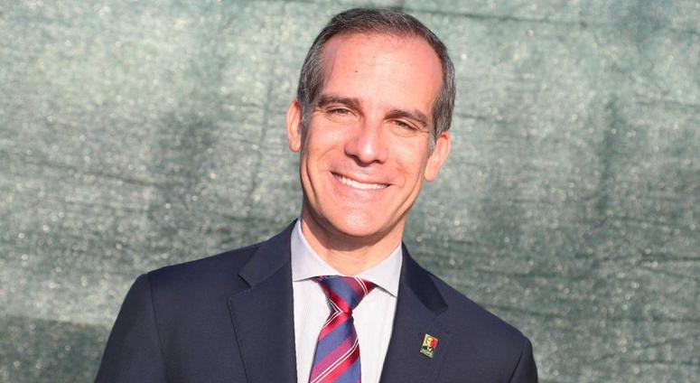 LA Mayor Eric Garcetti