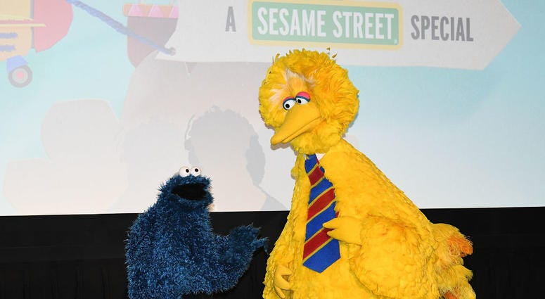 Big Bird, Oscar the Grouch, Getty