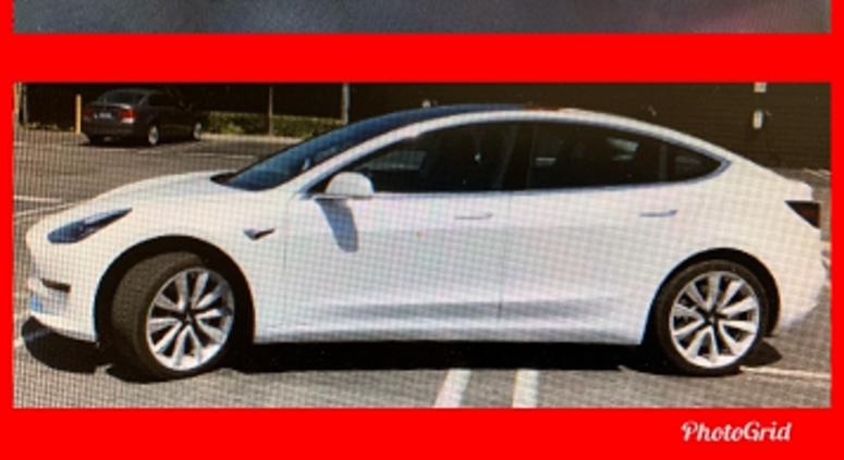 Hit-and-Run Tesla LAPD