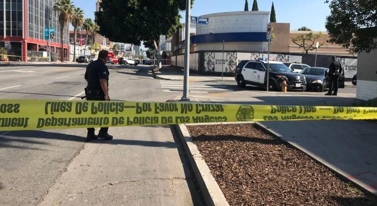 Robbery in Hollywood