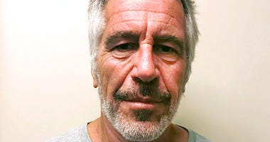 file photo, provided by the New York State Sex Offender Registry, shows Jeffrey Epstein