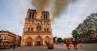 Notre Dame, fire