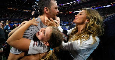 Tom Brady Super Bowl Family