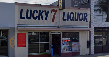 The robbery took place at Lucky 7 Liquors in the 12400 block of Washington Boulevard in Culver City. (Google Maps)