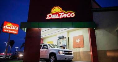 A Del Taco restaurant