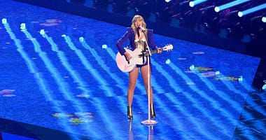 Taylor Swift is Blocked from Singing Own Songs at Awards Show