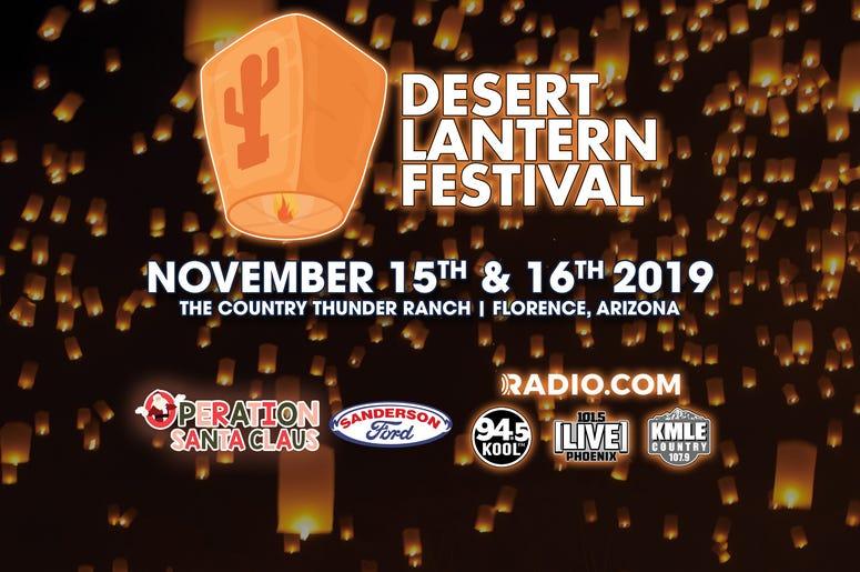 [Desert Lantern Festival] Nov 15 & 16